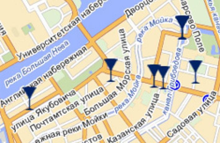 Петербург. Барный маршрут
