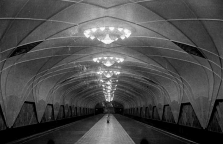 Вторая очередь московского метро. Сокол — Площадь Революции