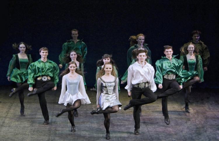 День Святого Патрика: танцы Ирландии