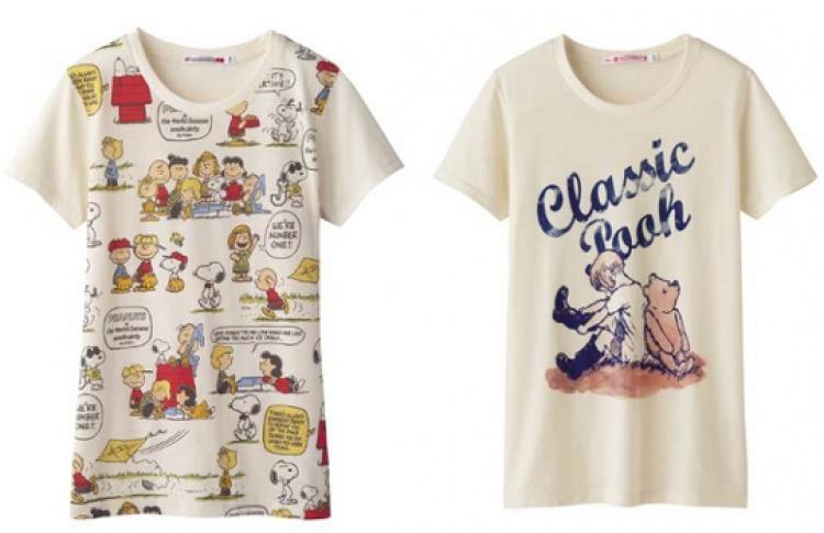 Uniqlo празднует юбилей коллекций футболок UT