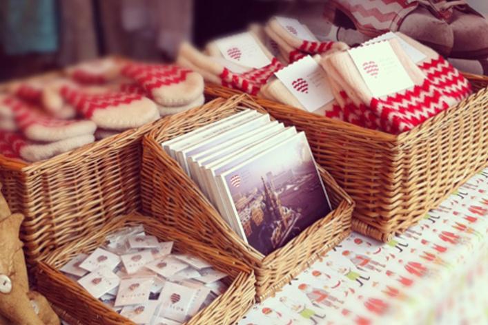 Вмагазинах появились сувениры для туристов Heart ofMoscow