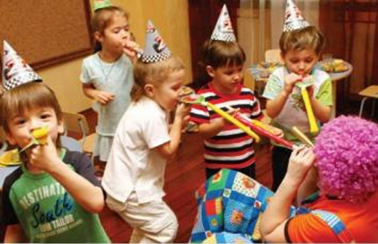 Детские праздники в Бирхаус