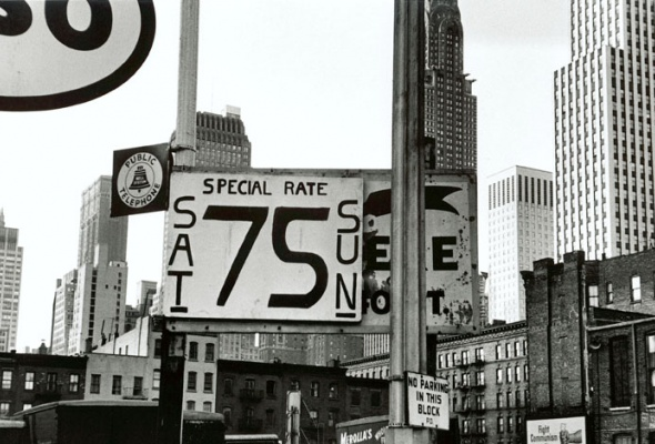 Уильям Кляйн «Нью-Йорк. 1955» - Фото №1