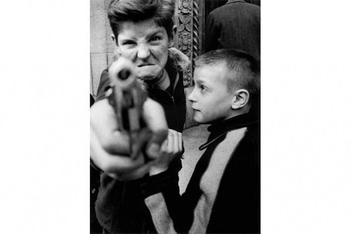Уильям Кляйн «Нью-Йорк. 1955»