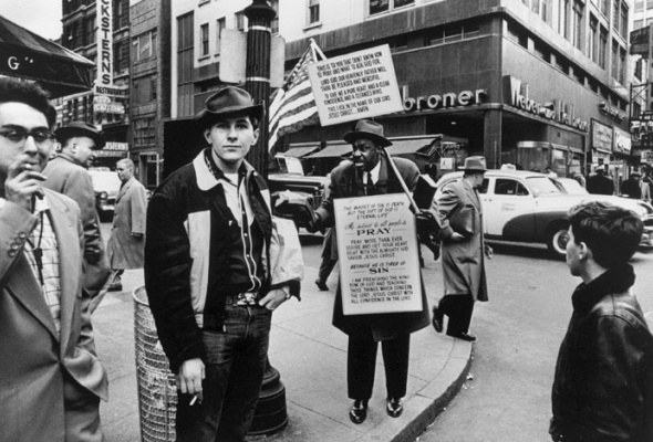Уильям Кляйн «Нью-Йорк. 1955» - Фото №4