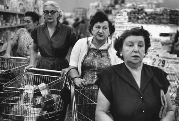 Уильям Кляйн «Нью-Йорк. 1955» - Фото №0
