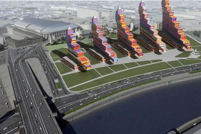 5проектов назамену гостинице «Россия»