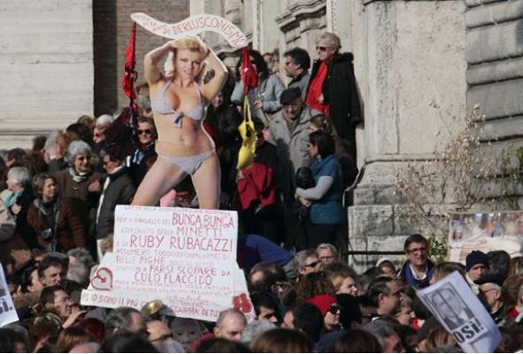 Политика иэротика: 5самых знаменитых акций протеста - Фото №4