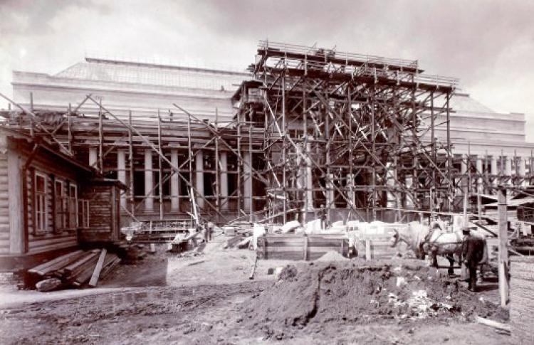 «Пушкинскому» музею — 100 лет