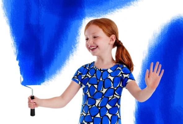 Диана фон Фюрстенберг придумала коллекцию для GAP Kids - Фото №1
