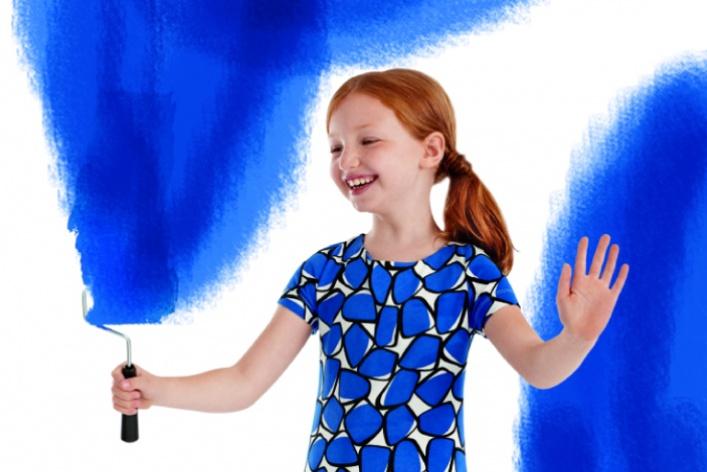 Диана фон Фюрстенберг придумала коллекцию для GAP Kids