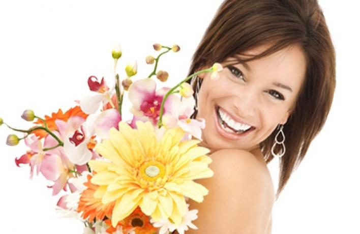 «Васаби» дарит цветы