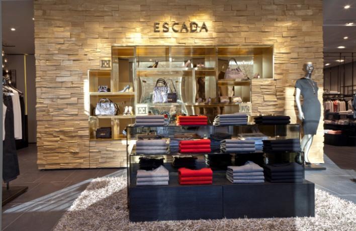 Флагманский бутик Escada открылся в«Украине»