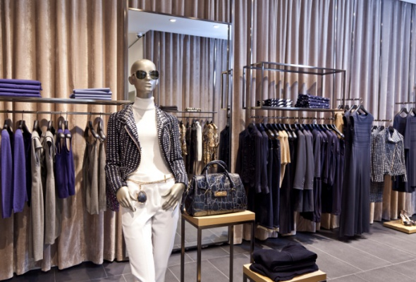 Флагманский бутик Escada открылся в«Украине» - Фото №5