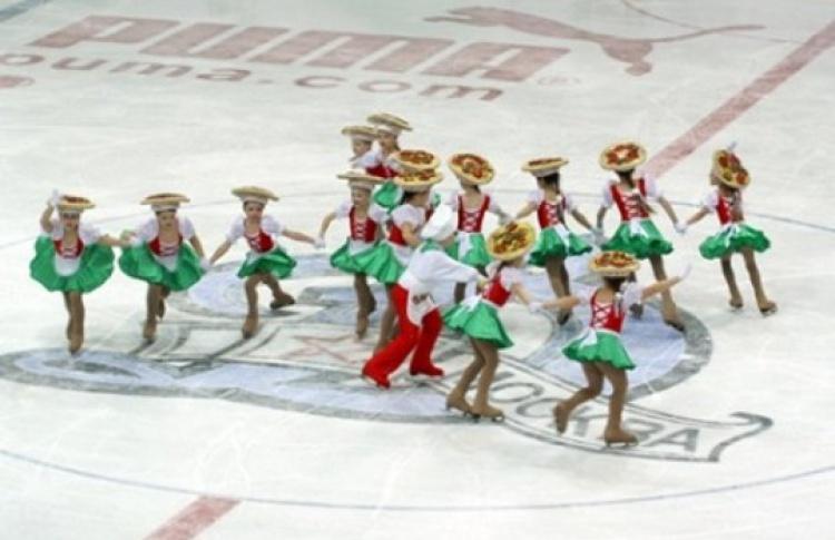 Детский фестиваль танцев на льду