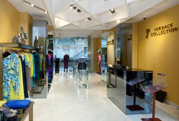 ВГУМе появился один изсамых больших вмире бутиков Versace Collection - Фото №2
