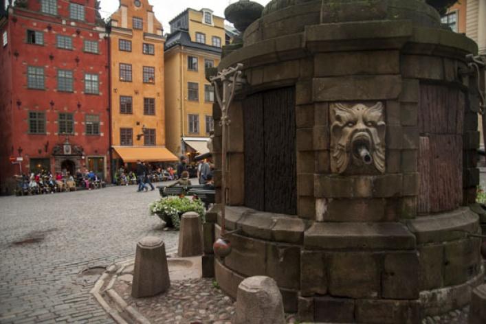 Весна вСтокгольме