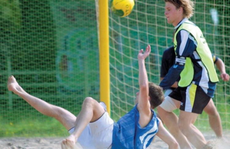Чемпионат Санкт-Петербурга по пляжному футболу