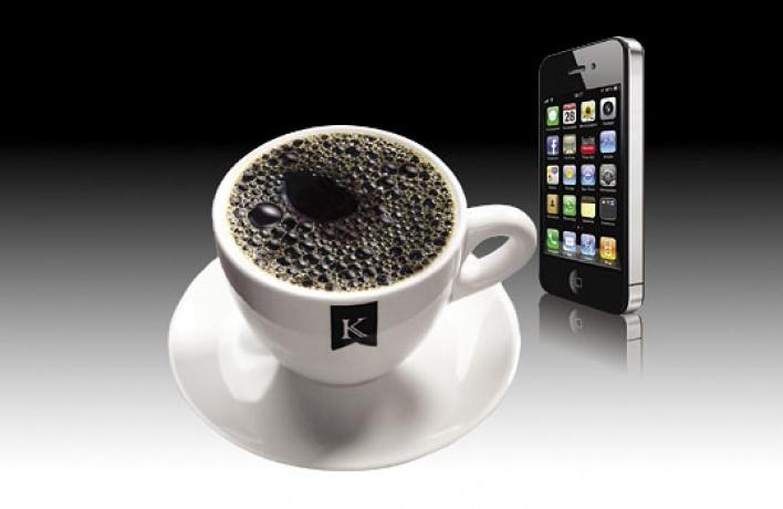«Кофеин» наливает кофе заполцены