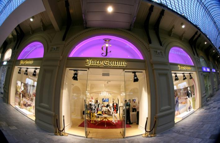 Первый столичный бутик Juicy Couture