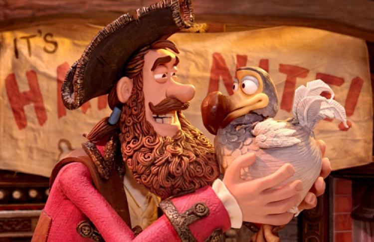 Закрытый показ фильма «Пираты! Банда неудачников»