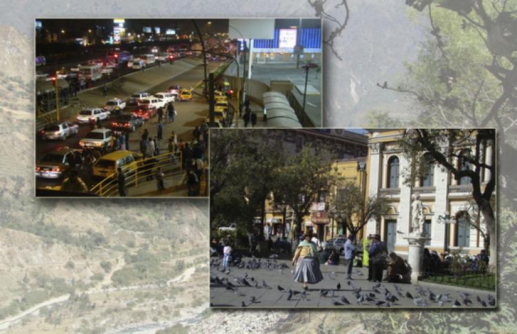 Лима и Ла-Пас — две столицы