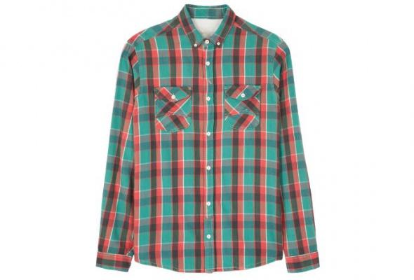 10мужских рубашек вклетку - Фото №1