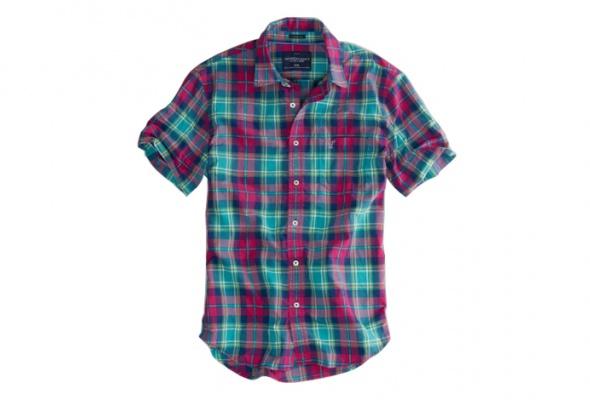 10мужских рубашек вклетку - Фото №5