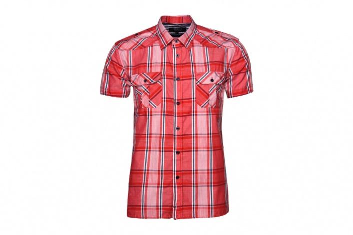 10мужских рубашек вклетку