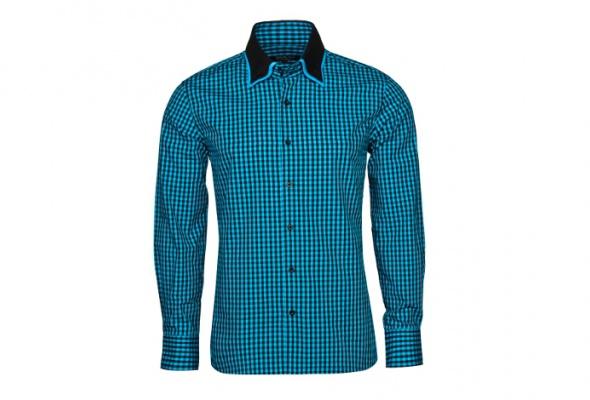10мужских рубашек вклетку - Фото №10