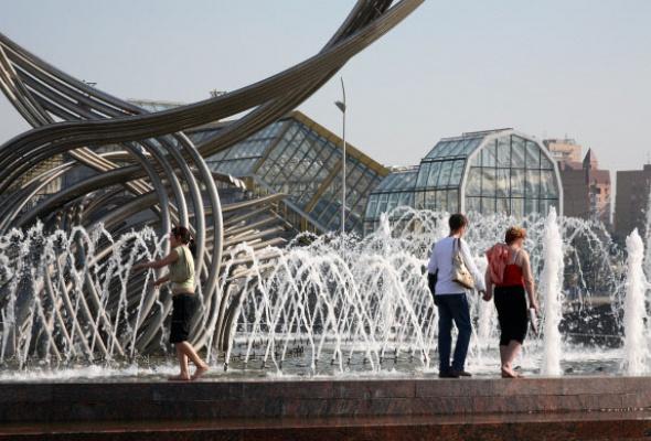 9самых красивых фонтанов Москвы - Фото №1