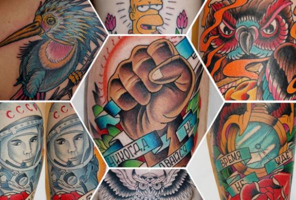 7модных татуировщиков - Фото №3