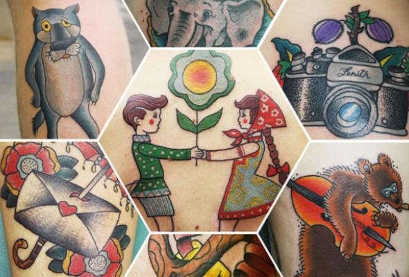 7модных татуировщиков - Фото №6