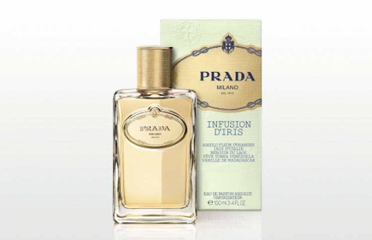 Prada представила аромат Infusion d'Iris Absolue