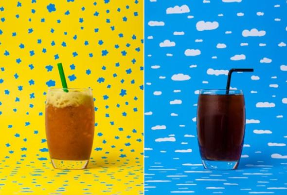 Яркие летние напитки - Фото №0