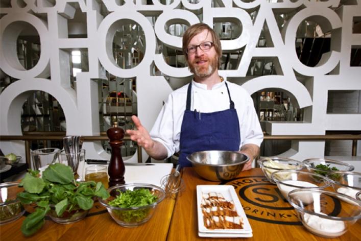 Мастер-класс: современная американская кухня