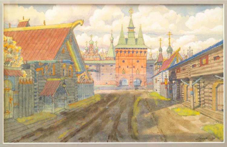 Идея Небесного Города в истории Москвы