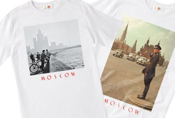 Heart ofMoscow посвятил футболки старой Москве - Фото №0