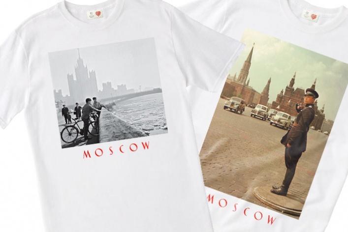 Heart ofMoscow посвятил футболки старой Москве
