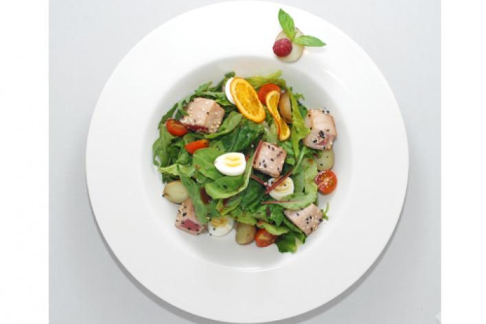 Лучшие весенние салаты
