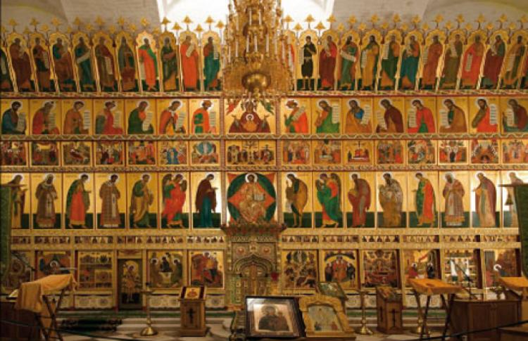 Декорация православного храма: средневековый космос
