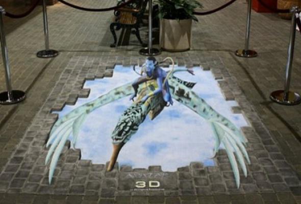 ВБабушкинском парке наасфальте нарисуют 3D-картины - Фото №2