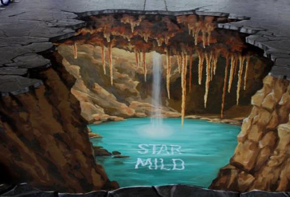 ВБабушкинском парке наасфальте нарисуют 3D-картины - Фото №3