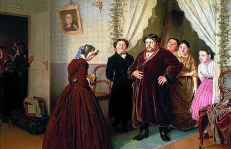 Купеческий быт, костюм и мода в произведениях А. Островского