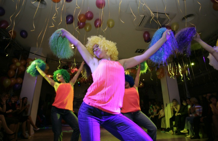 Финал ежегодного танцевального конкурса «Звездные танцы»