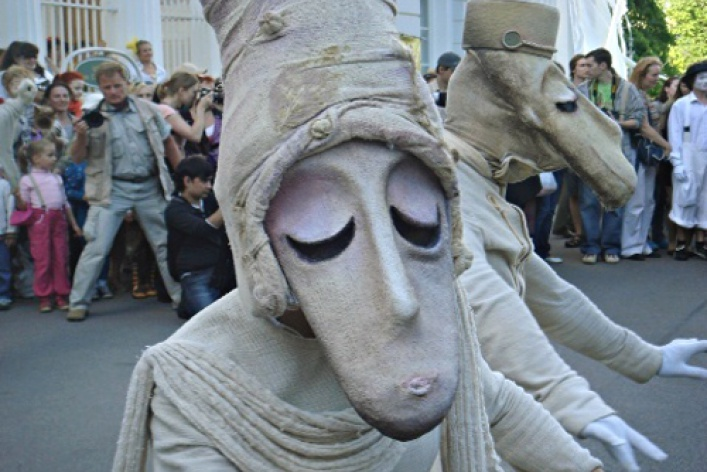 II Международный фестиваль уличных театров