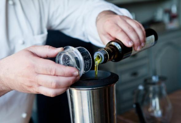 Мастер-класс Джузеппе Рикебоно: оливкового масла много небывает - Фото №5