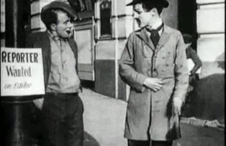 Американская кинокомедия слепстик. Первые фильмы Чаплина