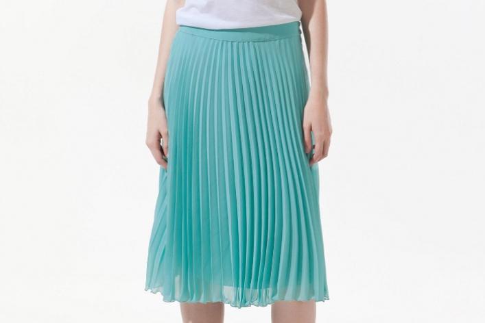 25модных плиссированных юбок