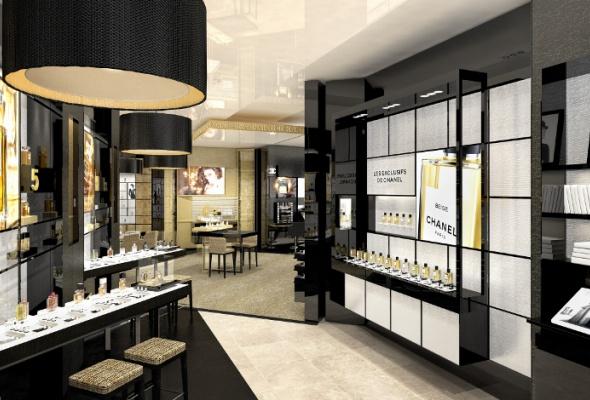 Первый европейский бьюти-бутик Chanel - Фото №2